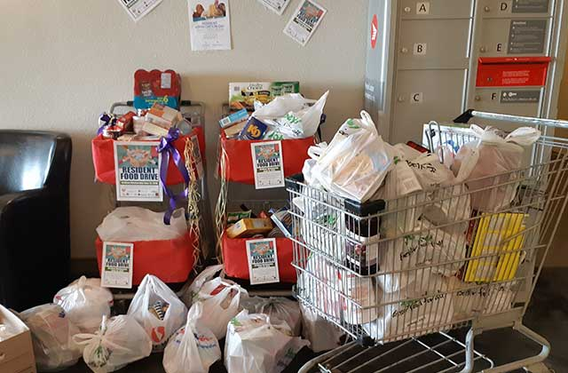 Kelson Group Edmonton Food Drive 2018
