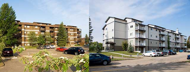 Heatheridge Estates Renovation Before and After