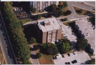 Aerial View of Clair Oak Apartments
