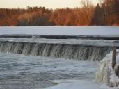 Community Pic., Wilks Dam on the Grand, Brantford