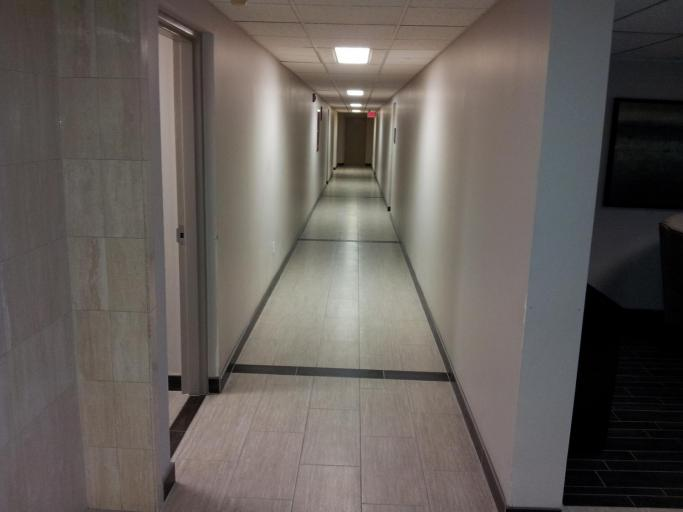 Newly Decorated Ground Floor Corridor