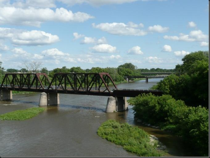 Grand River, Brantford
