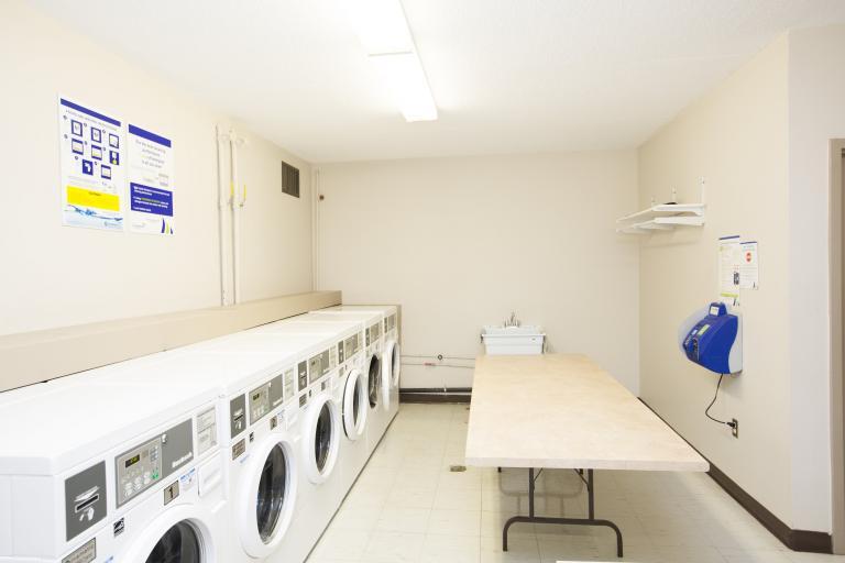 Eco Friendly Smart Card Laundry Facility