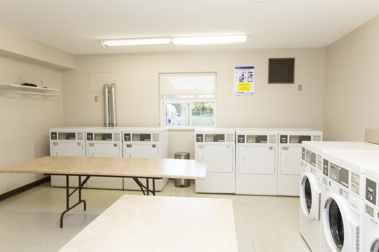 Large Bright Laundry Room