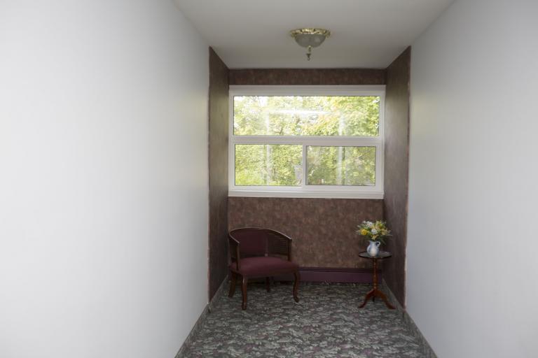 Corridor Sitting Area