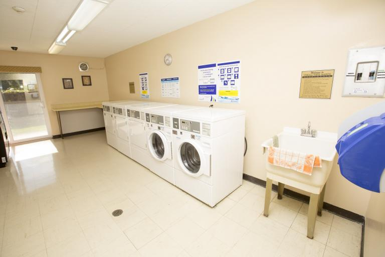 Smart Card Laundry Facilities