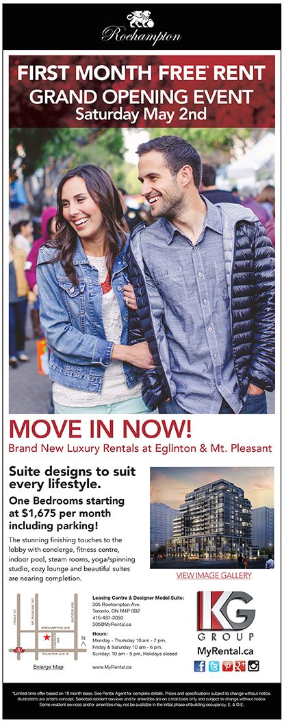 MOVE IN SPECIAL: FIRST MONTH FREE