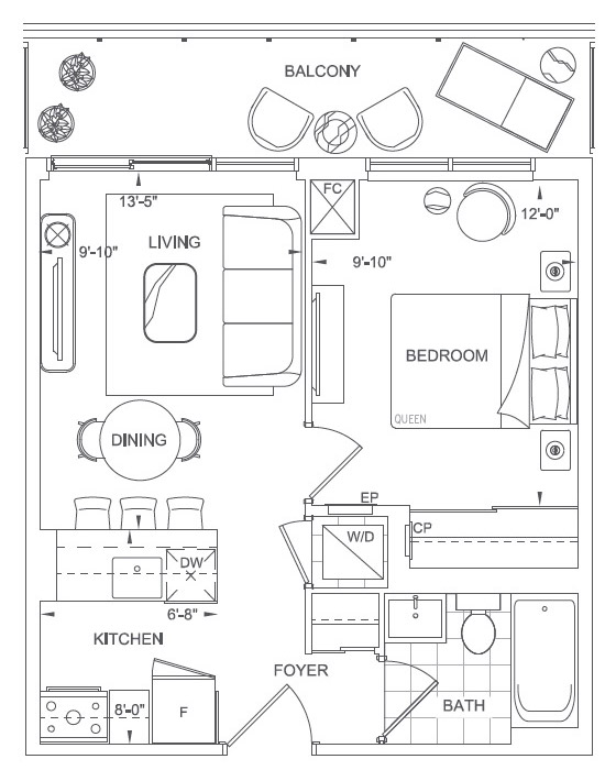 Allenby Floorplan