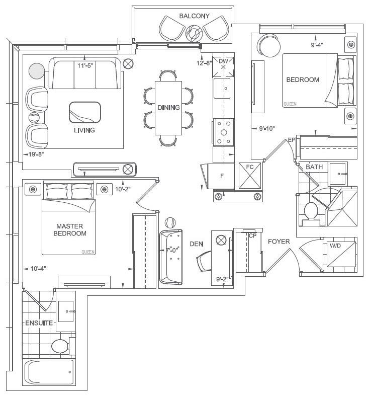 Chaplin Floorplan