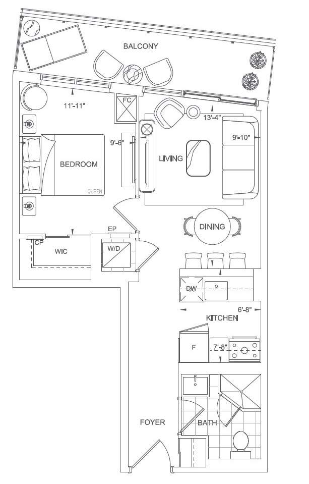 Elgin Floorplan