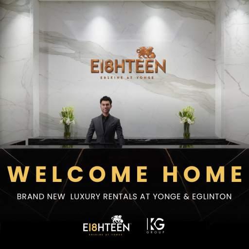 E18HTEEN ERSKINE WELCOME HOME
