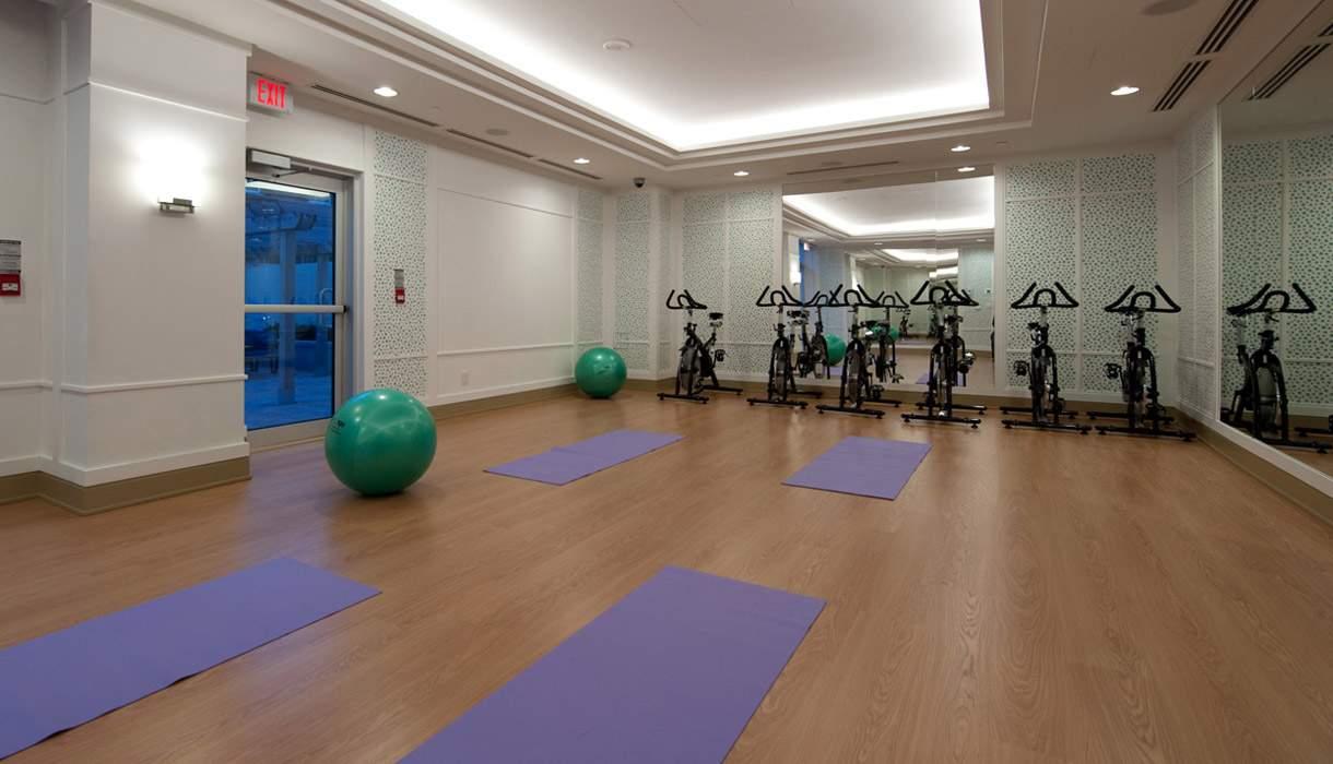 KG Harrison Yoga Room