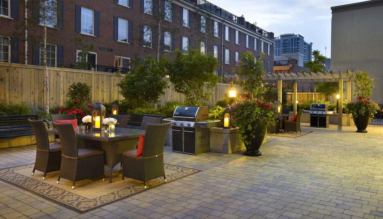 KG Harrison Outdoor BBQ Terrace