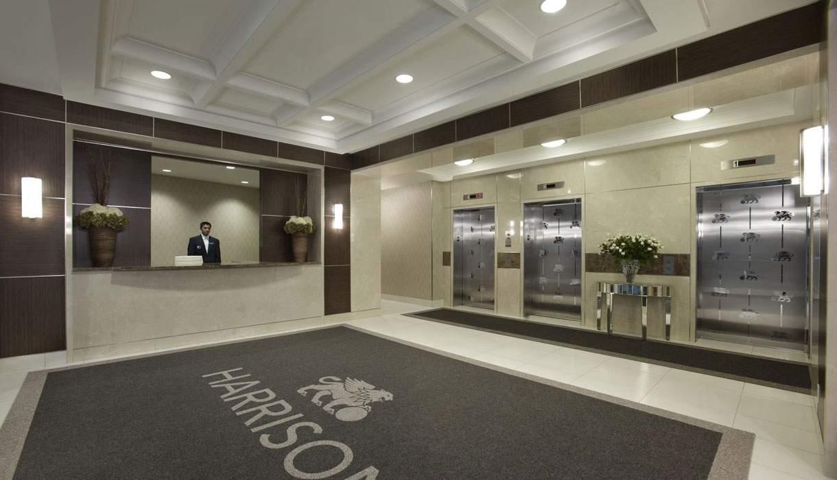 KG Harrison Main Concierge Lobby