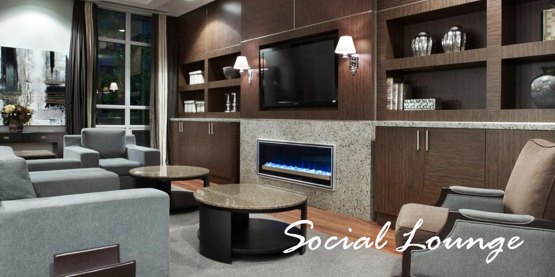 KG Apartment Luxury Rentals Harrison Social Lounge 1
