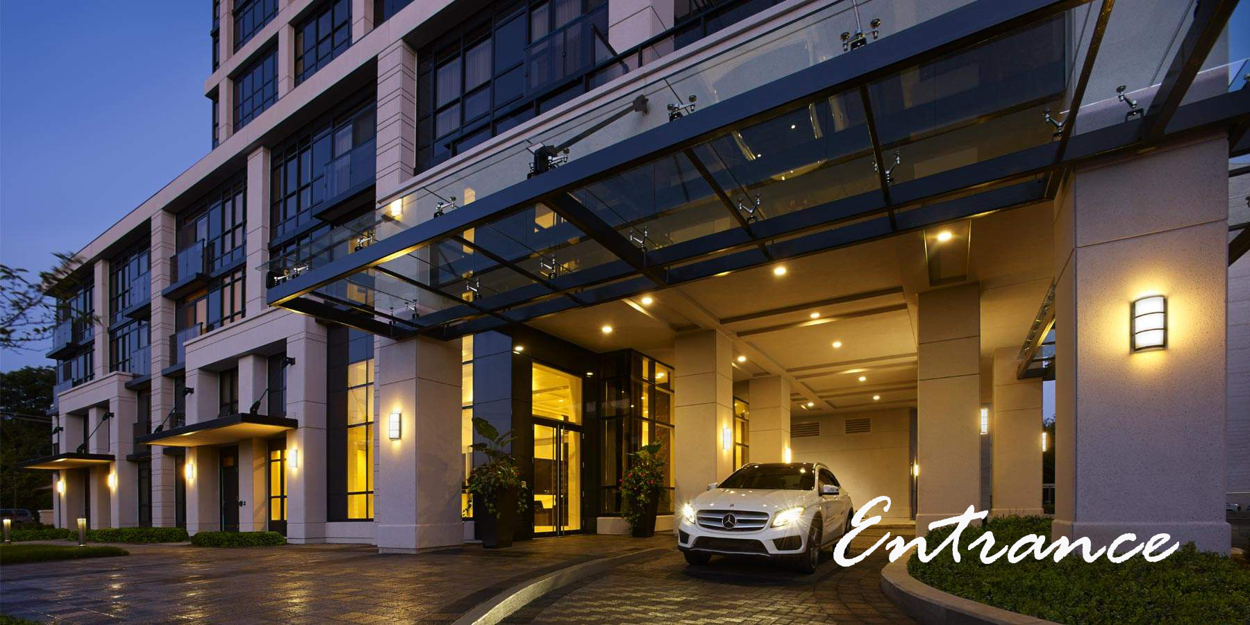 KG Group Roehampton Brand New Luxury Condo Rental Suites Yonge and Eglinton Exterior