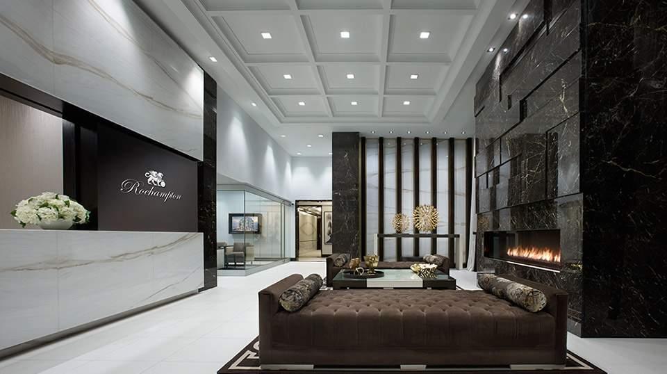 KG Roehampton WiFi Lobby Fireplace Lounge