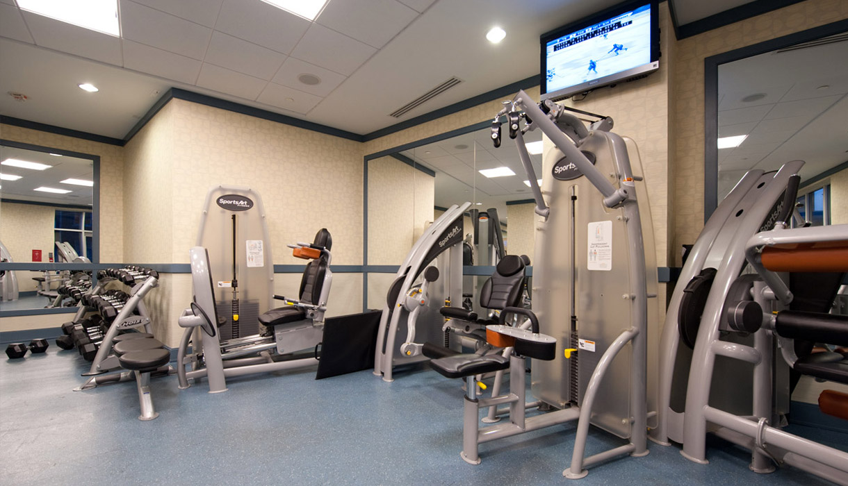 KG Harrison Luxury Amenities State of the Art Gym Circuit Training with Free WiFi