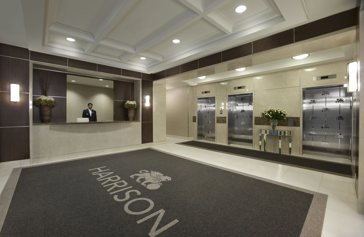 KG Harrison Luxury Lobby Lounge 24 hours Concierge and Security