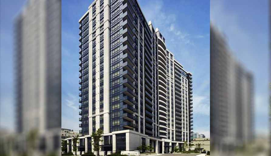 KG Harrison Luxury Grand Front Entrance Condo Rental Apartments Yonge and Sheppard