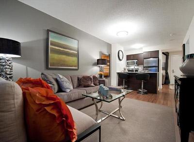 KG Harrison Model Suite Living Room Virtual Tour