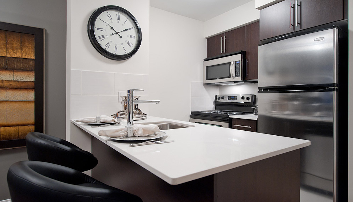 KG Harrison Luxury Model Suite Kitchen
