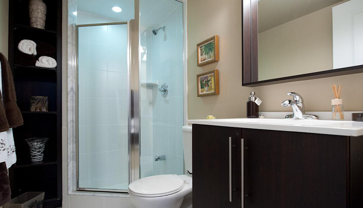 KG Harrison Luxury Model Suite Master Ensuite Bathroom
