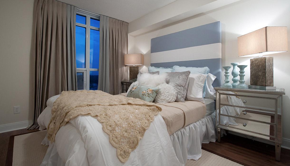 KG Harrison Luxury Model Suite Bedroom