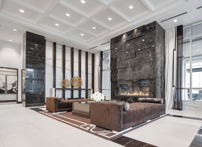 KG Roehampton Fireplace Lobby Lounge Virtual Tour