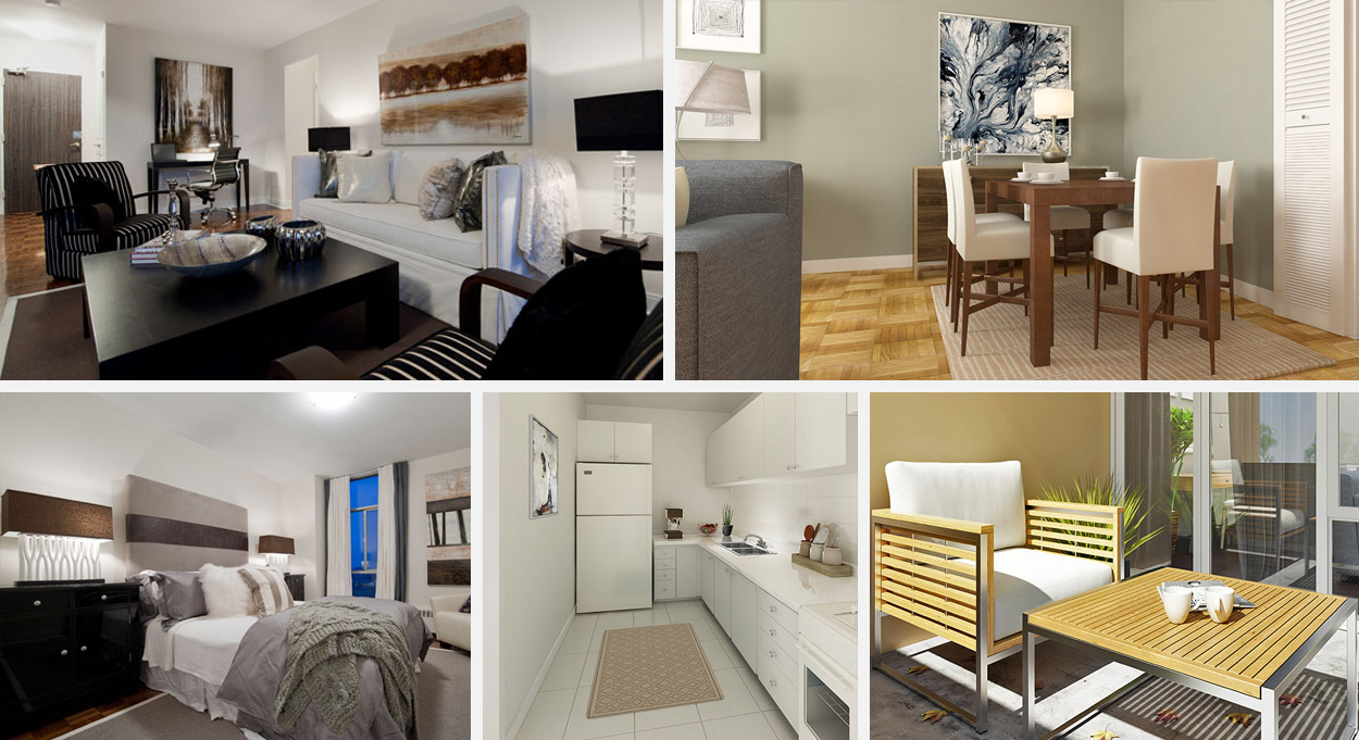 KG Group Hampton House Apartment Rentals Suite Features and Finishes