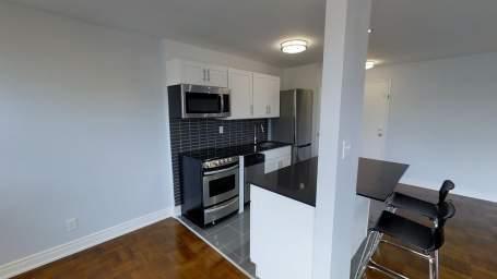 Modern open concept kitchen Plan 1