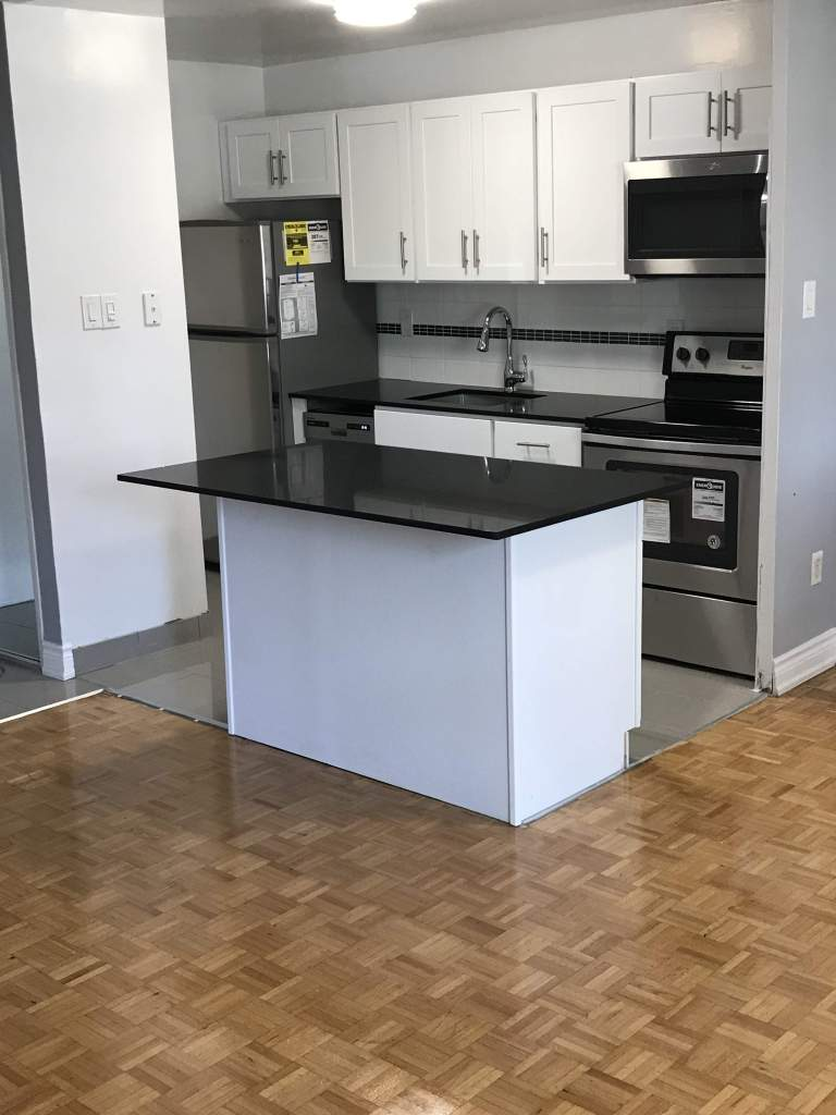 Designer kitchen with all new stainless appliances