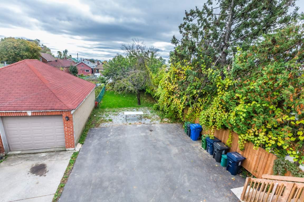 large backyard,