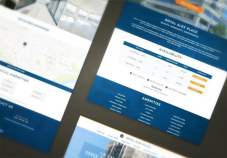Royal Alex Place site Launch! | Landlord Web Solutions