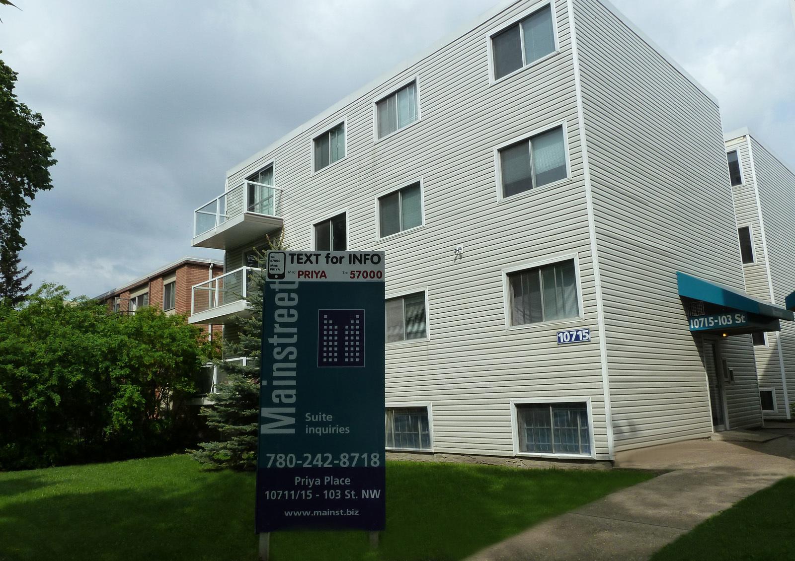 10715 103 Street NW, Edmonton, AB - $800