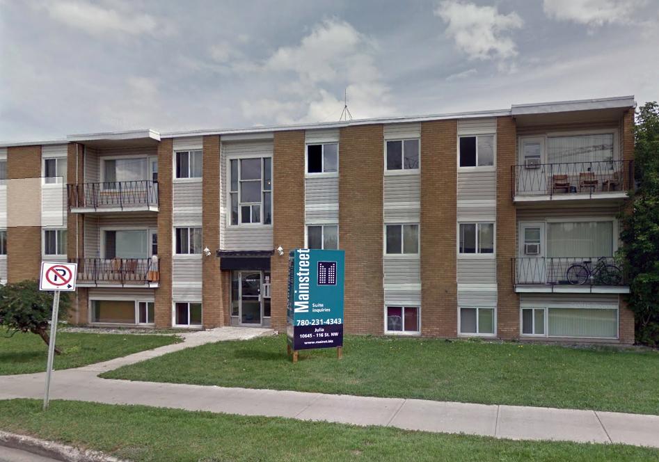 10645 116 Street NW, Edmonton, AB - $799