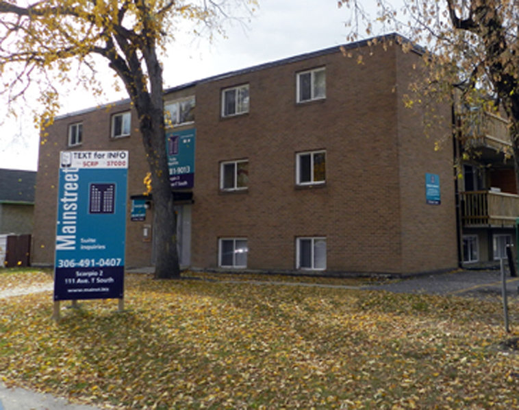Saskatoon 1 bedroom Apartment