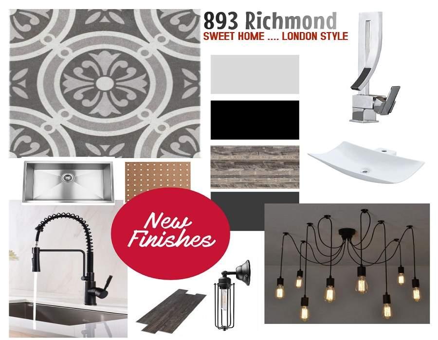893 Richmond Steet / Rear