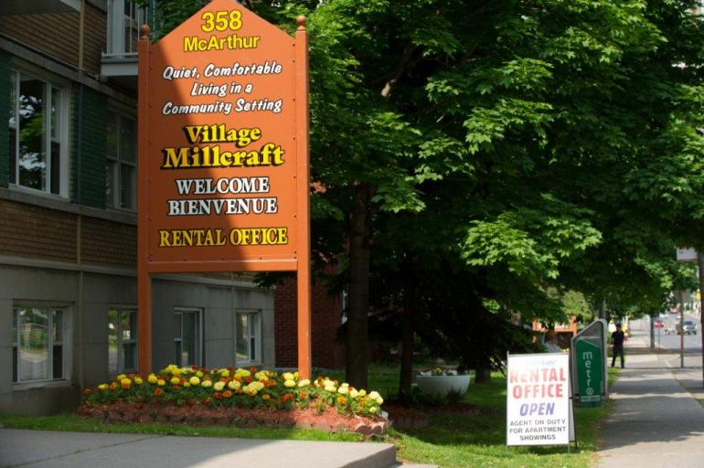 Village Millcraft Ottawa 1 bedroom and 2 bedroom apartments