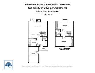 Home For Rent in  1825 Woodview Drive S.W, Calgary, AB