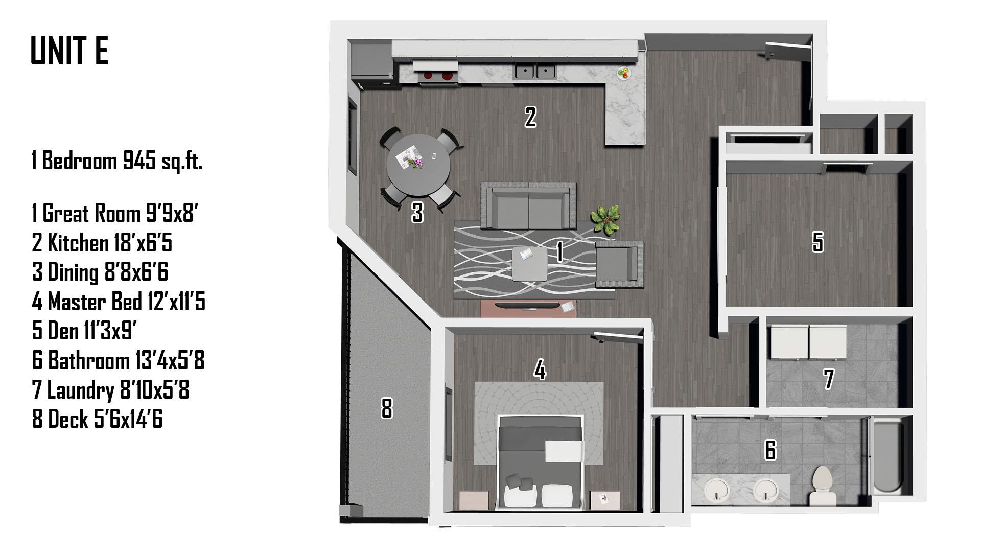 E Floorplan
