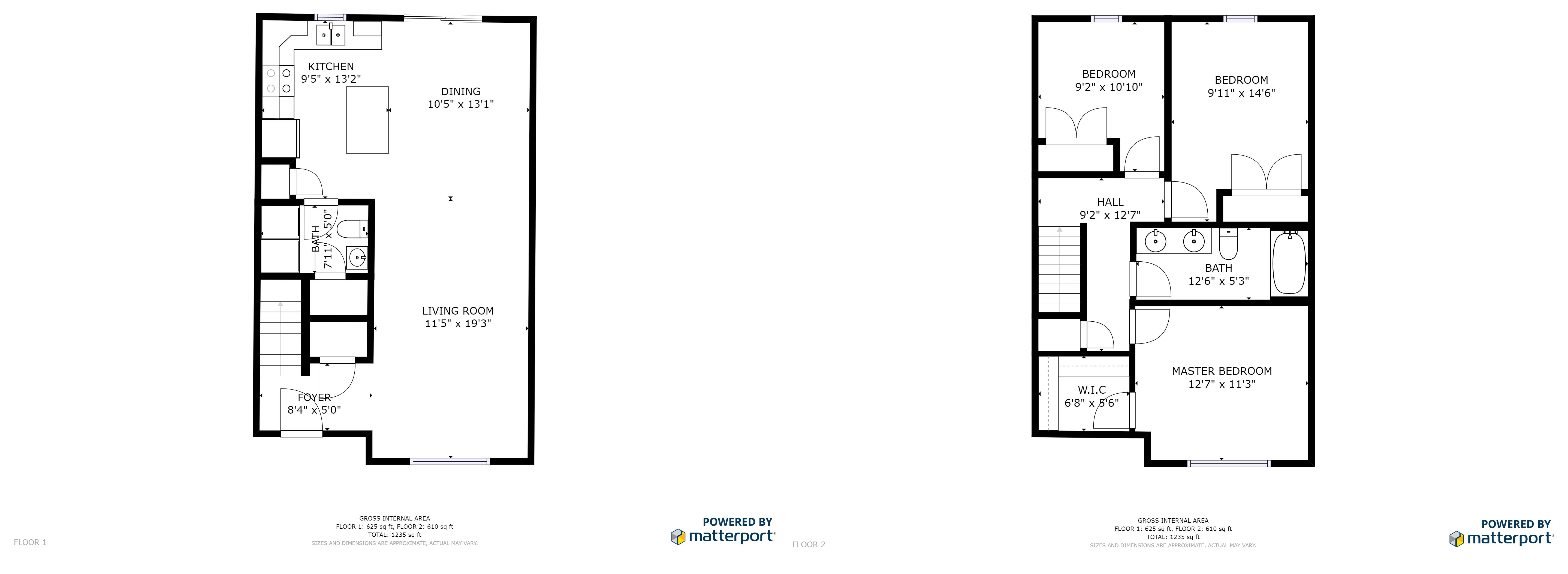 Townhouse Floorplan