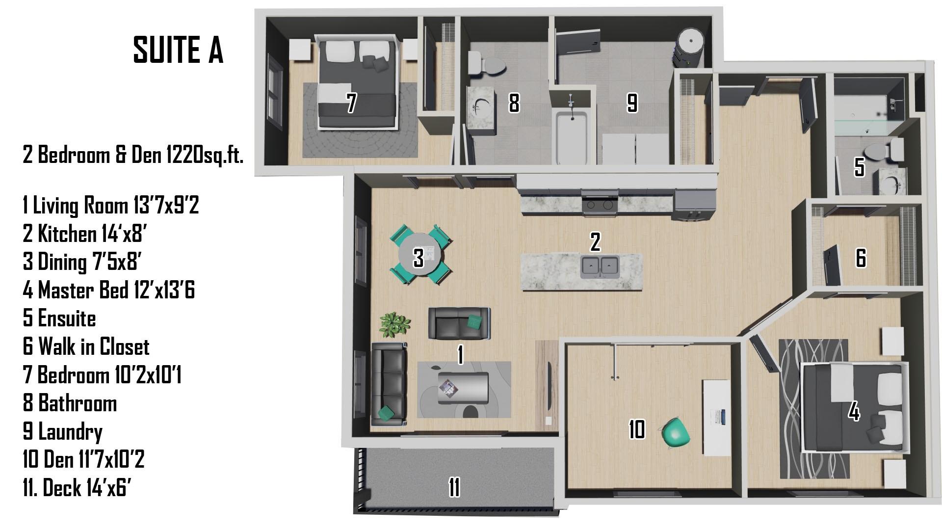 A Floorplan