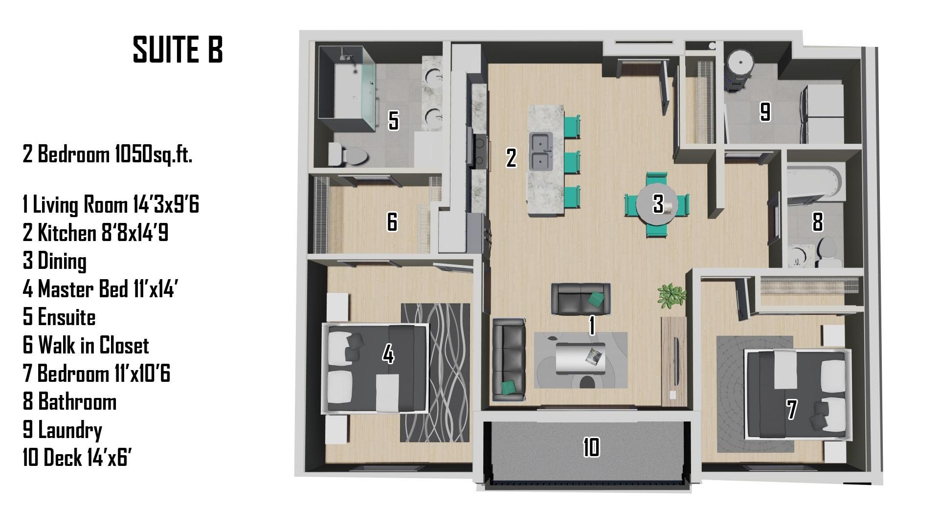 B Floorplan
