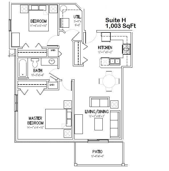H Floorplan