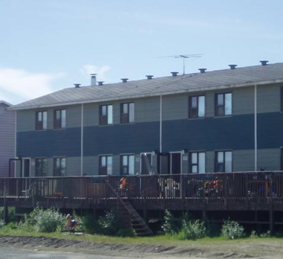 Maisons en rangée Gwich'in