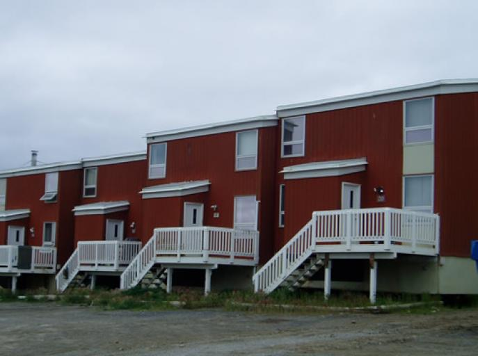 Inuit Row Houses