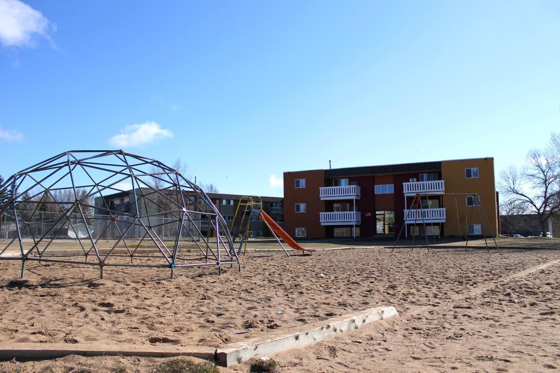 New, large playground