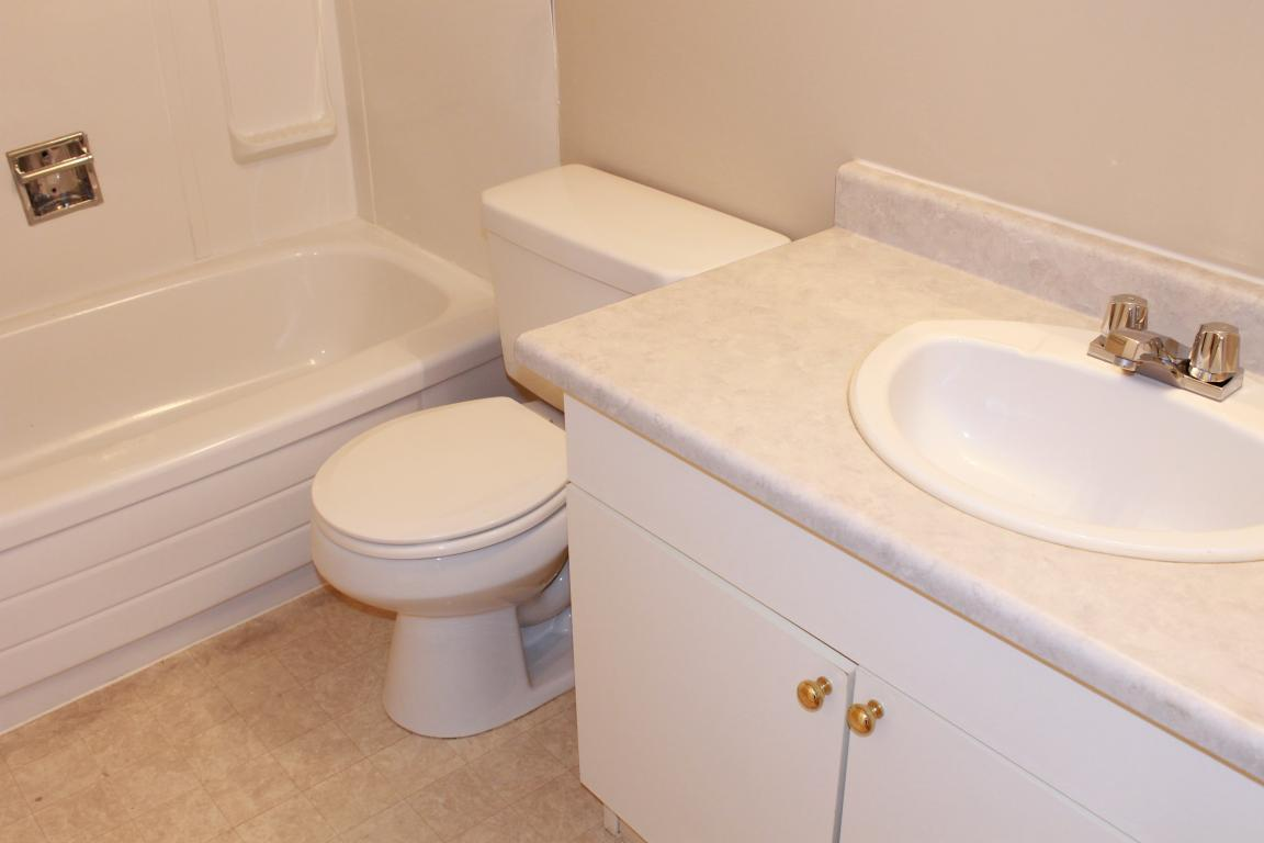 Immaculate remodeled bathrooms