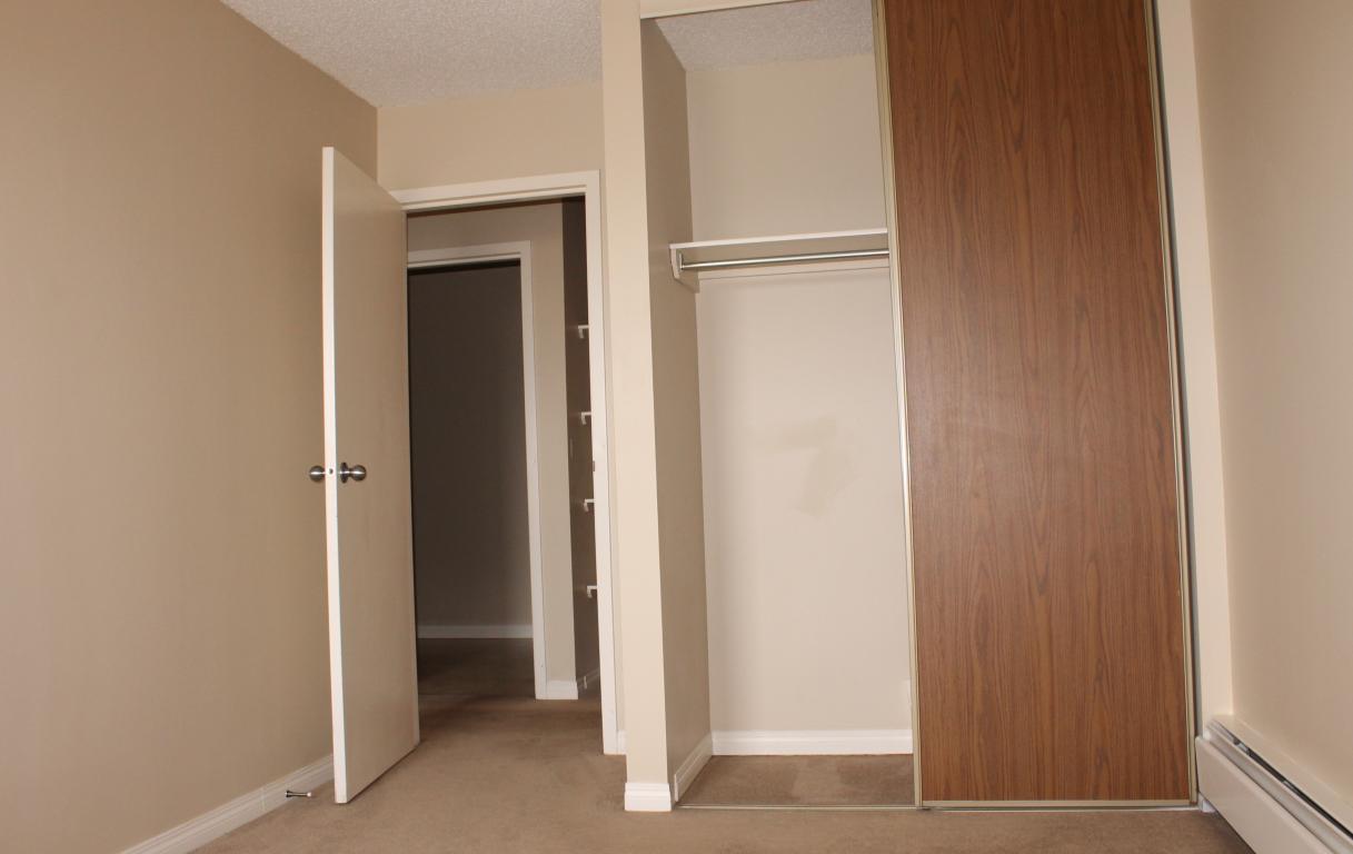 Plenty of closet space